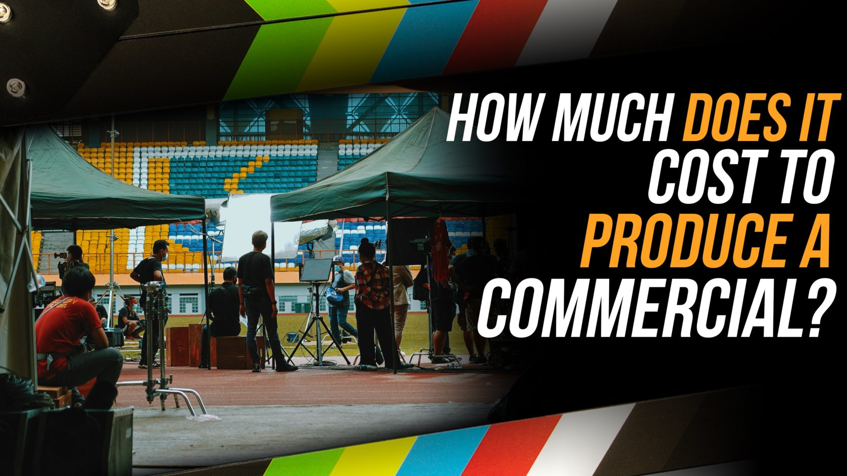 How much does it cost to produce a TV commercial
