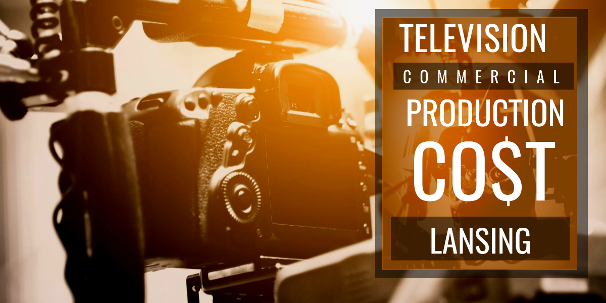 How much does it cost to produce a commercial in Lansing?