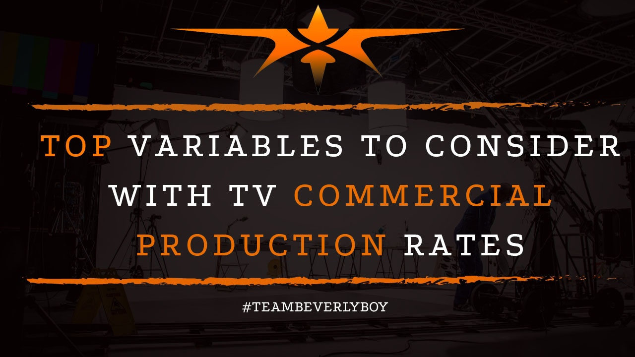 Top Variables to Consider with TV Commercial Production Rates