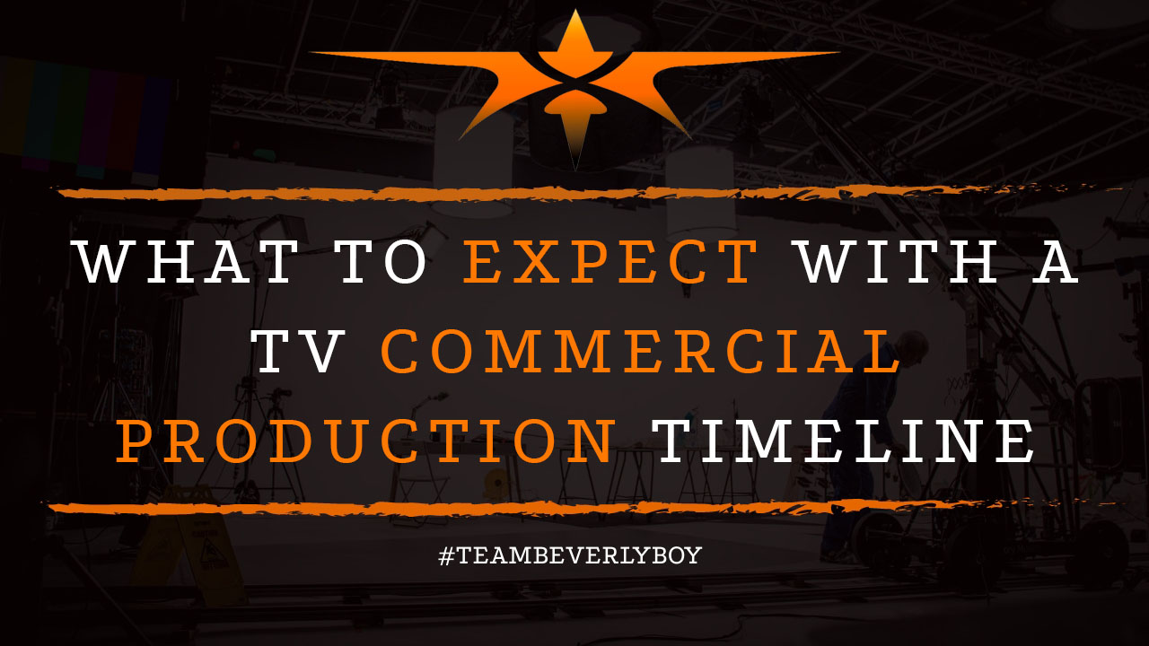 What to Expect with a TV Commercial Production Timeline