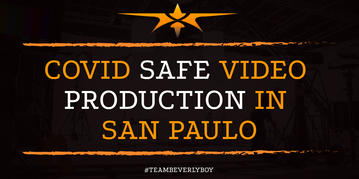 COVID Safe Video Production in San Paulo