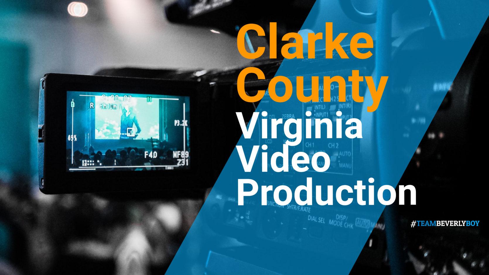 Clarke County VA Video Production