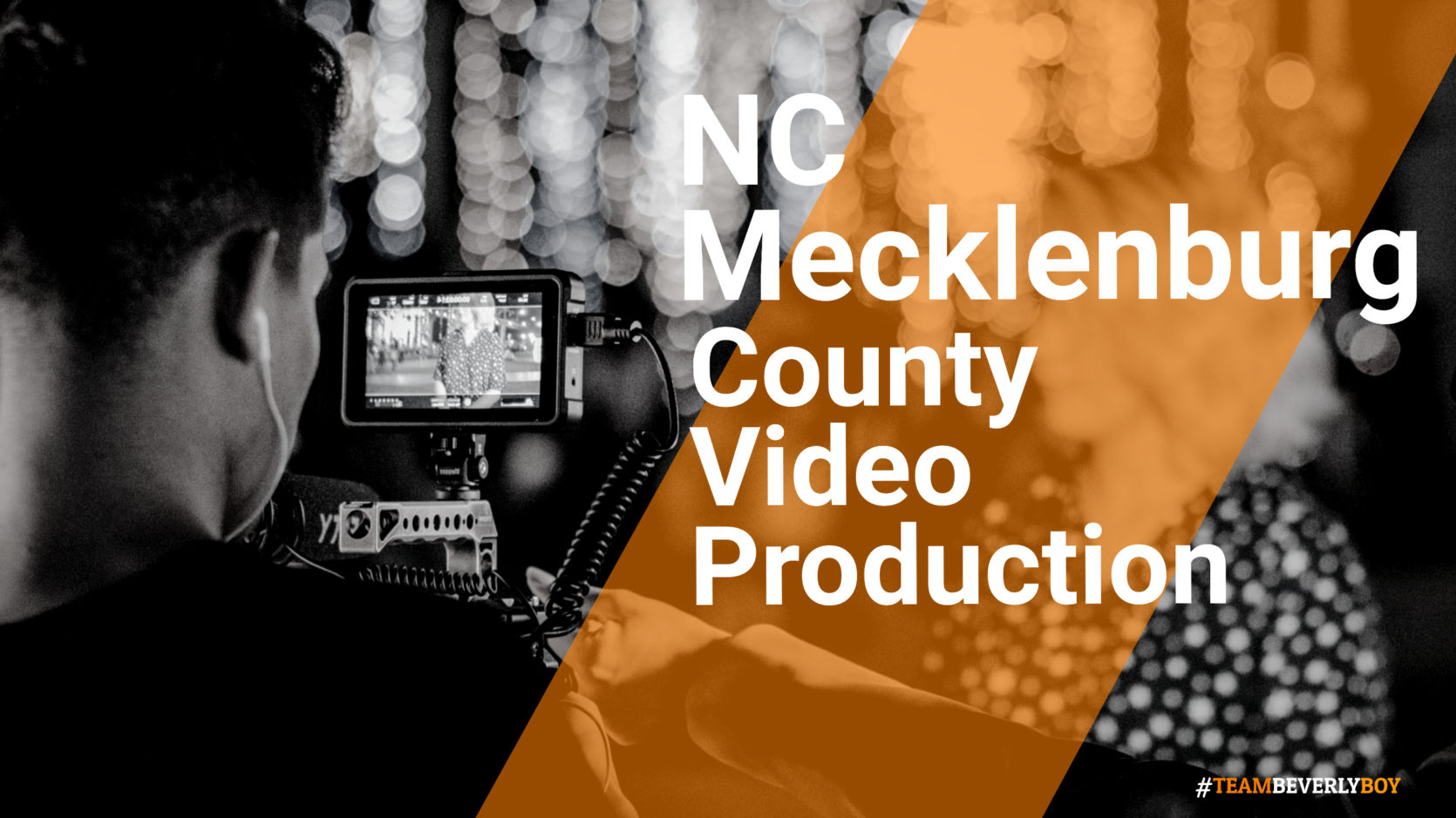 Mecklenburg county NC video production