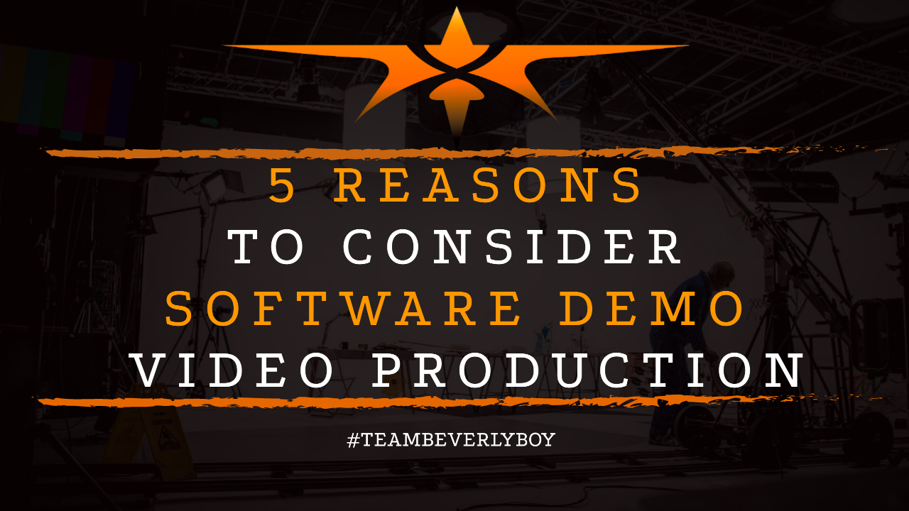 5 Reasons to Consider Software Demo Video Production