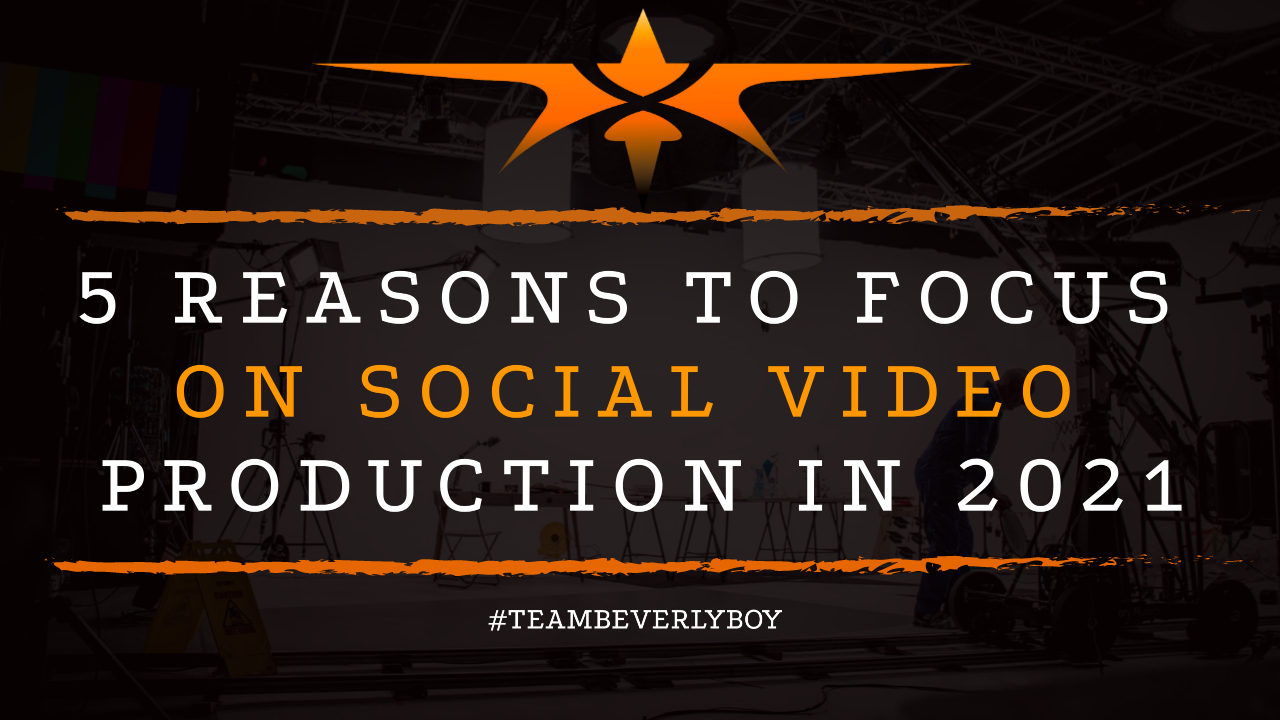 5 Reasons to Focus on Social Video Production in 2021