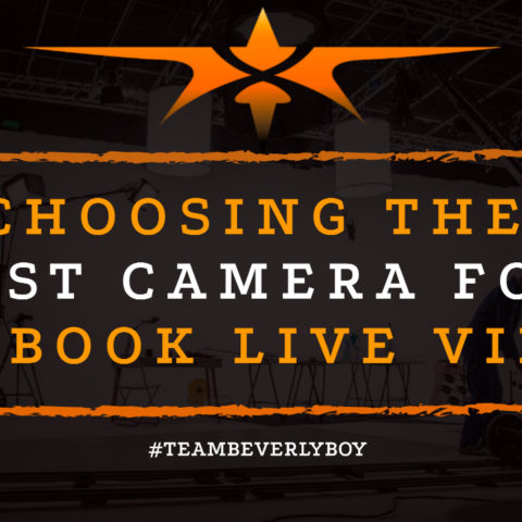 Choosing the Best Camera for Facebook Live Videos