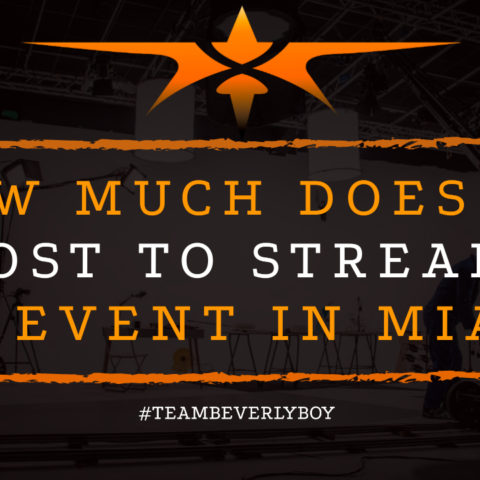 How Much Does it Cost to Stream an Event in Miami