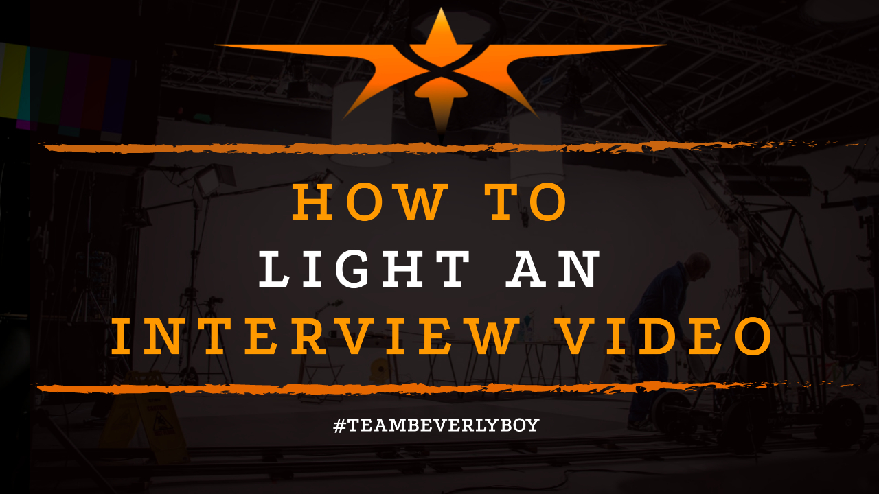 How to Light an Interview Video