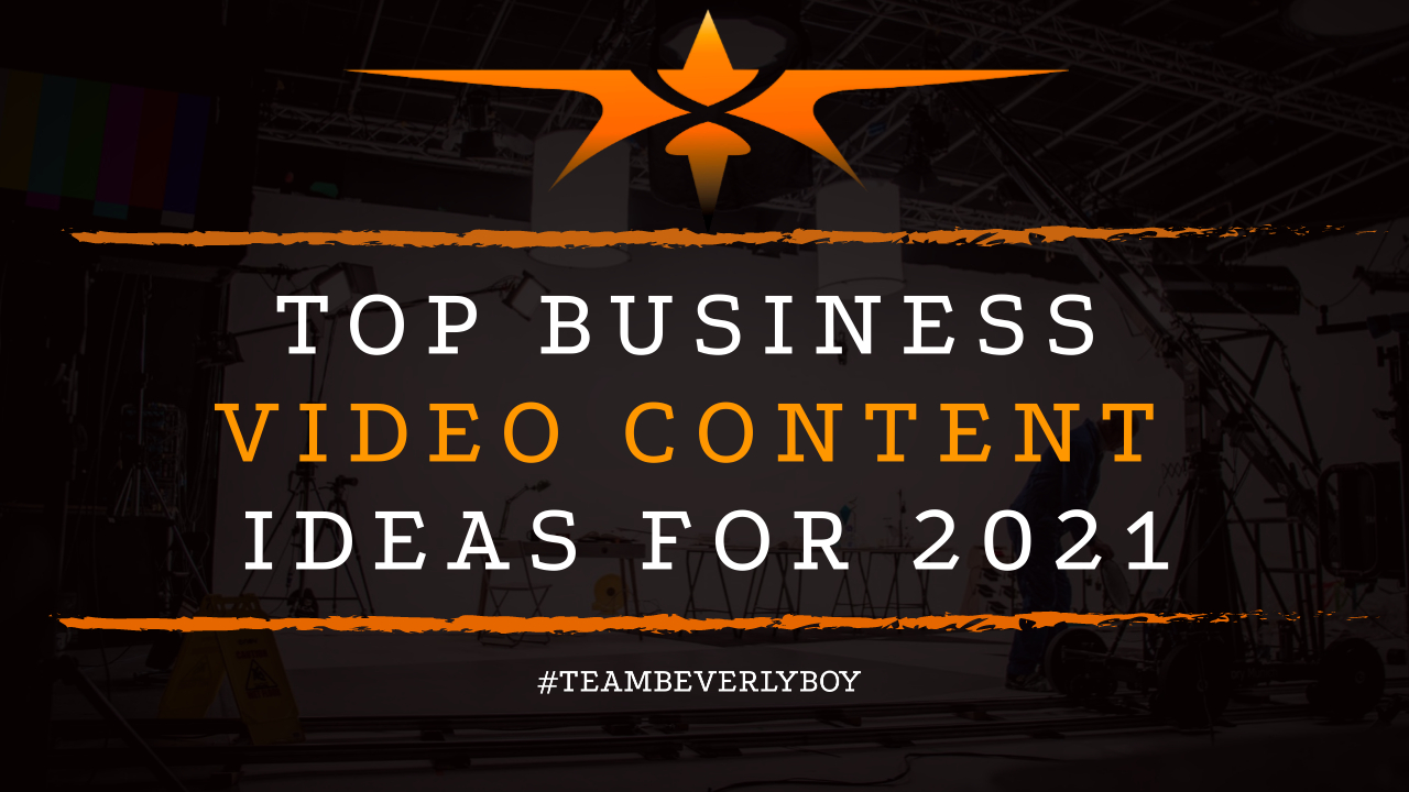 Top Business Video Content Ideas for 2021