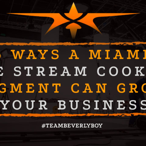 5 Ways a Miami Live Stream Cooking Segment Can Grow Your Business
