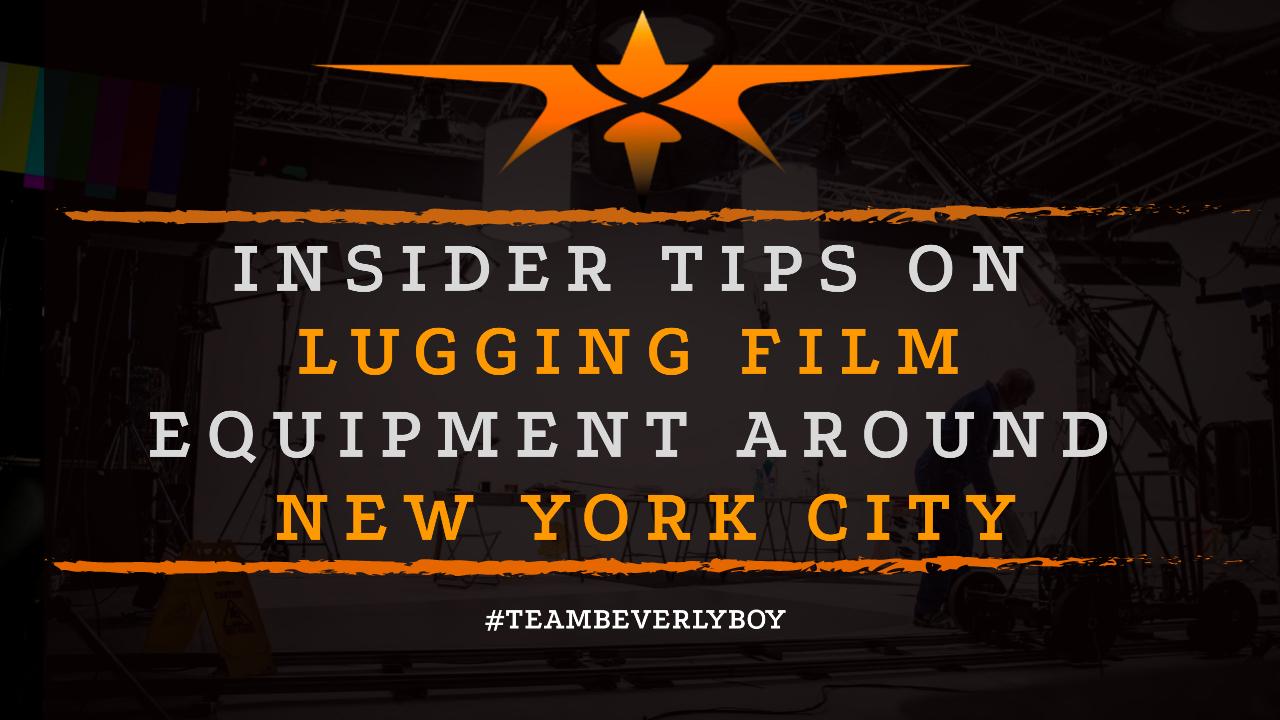 Insider Tips on Lugging Film Equipment Around New York City