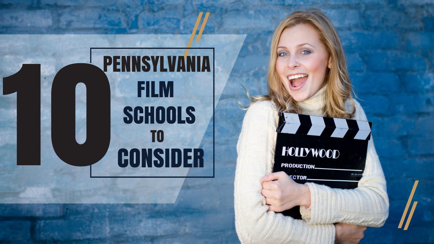 Top 10 Pennsylvania film schools for filmmakers to consider