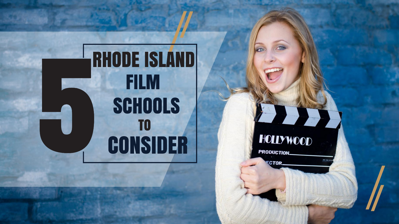 Top 5 Rhode Island film schools for filmmakers to consider