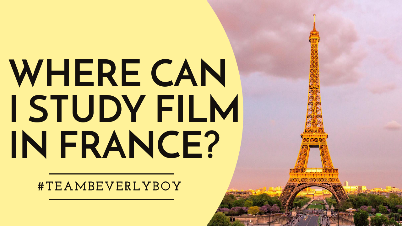 Where Can I Study Film In France