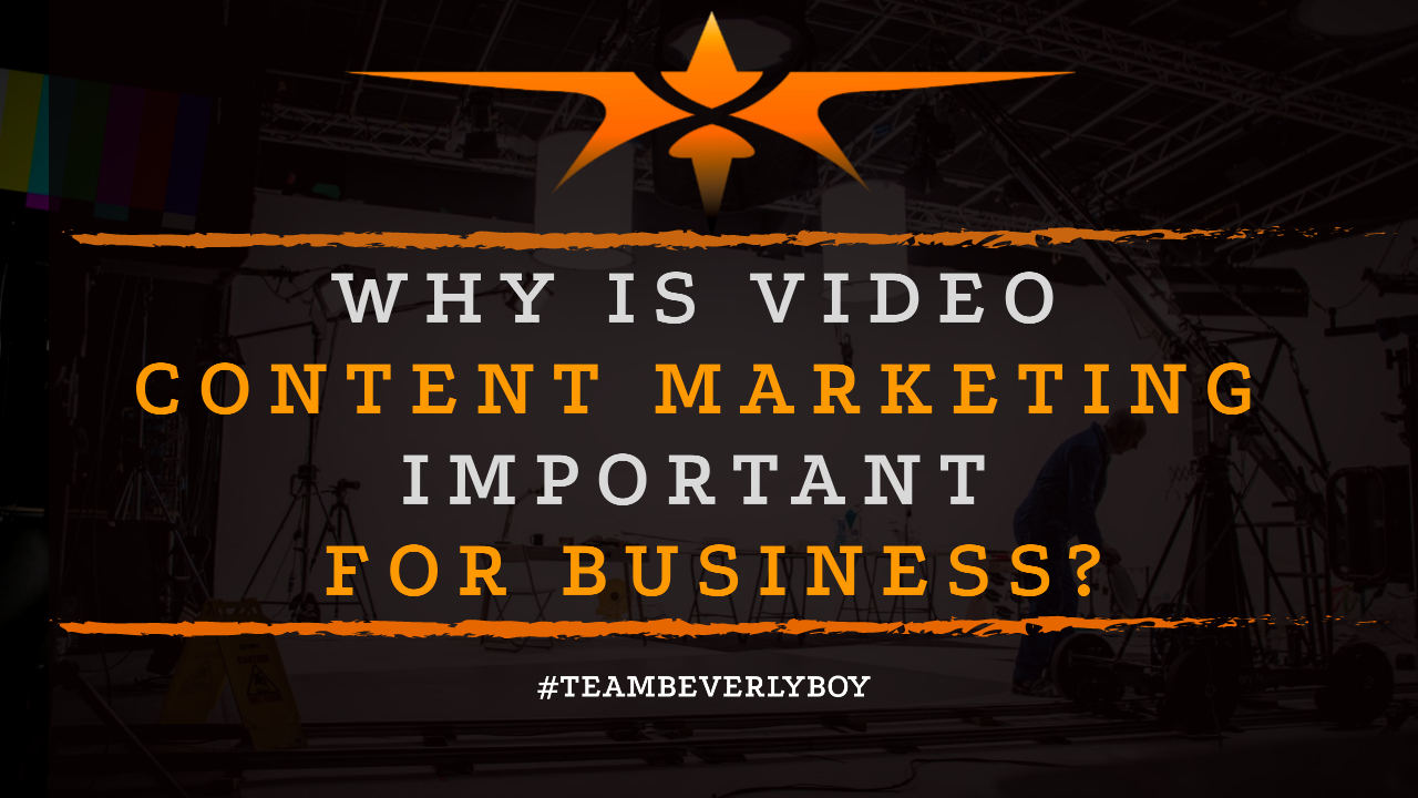 Why is Video Content Marketing Important for Business-