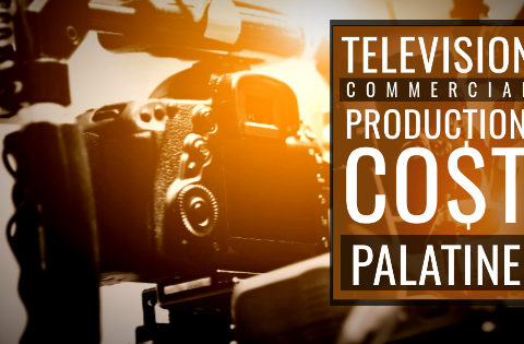 How much does it cost to produce a commercial in Palatine