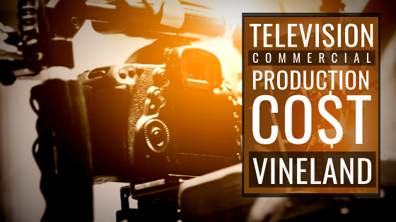 How much does it cost to produce a commercial in Vineland