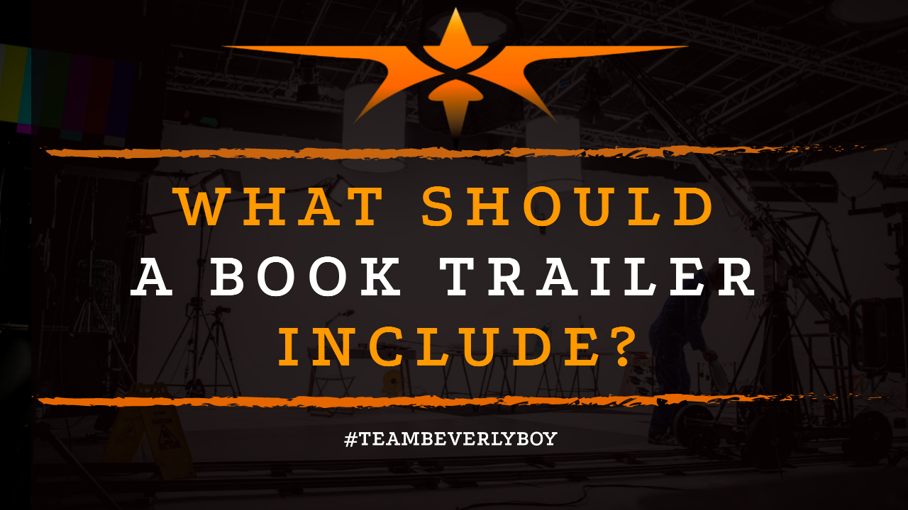 What Should a Book Trailer Include-