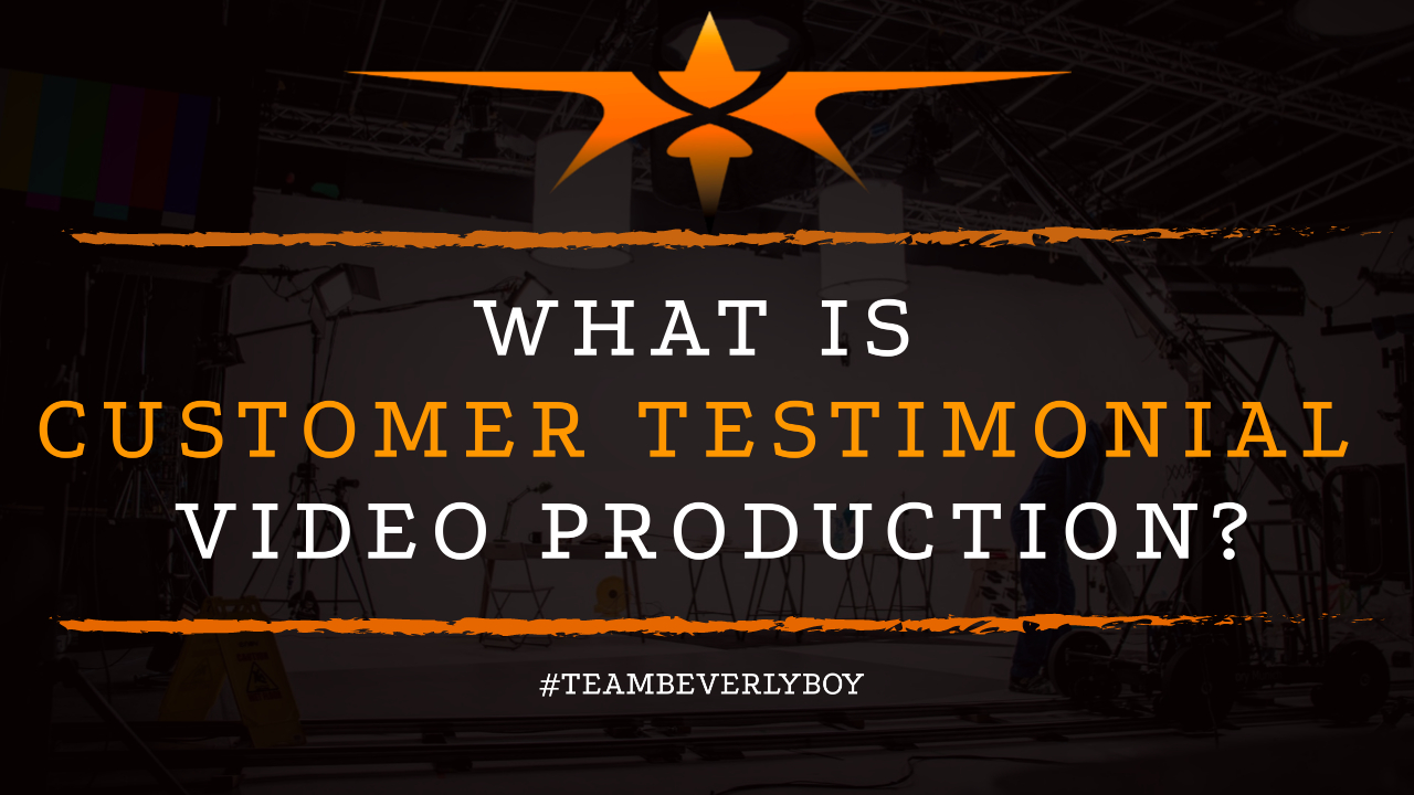 What is Customer Testimonial Video Production