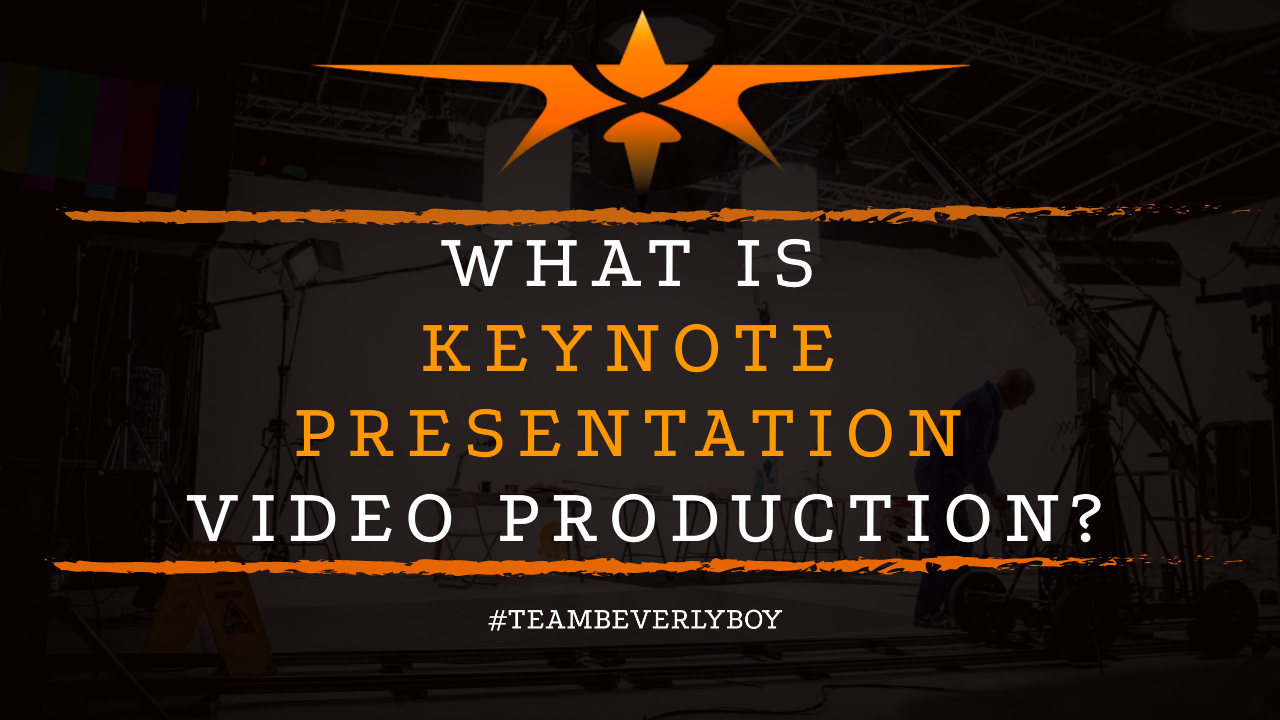What is Keynote Presentation Video Production