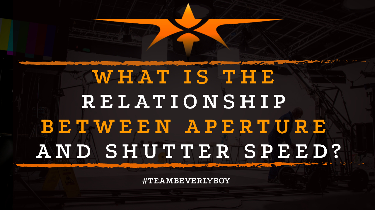 What is the Relationship Between Aperture and Shutter Speed-
