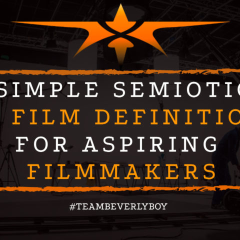 A Simple Semiotics in Film Definition for Aspiring Filmmakers