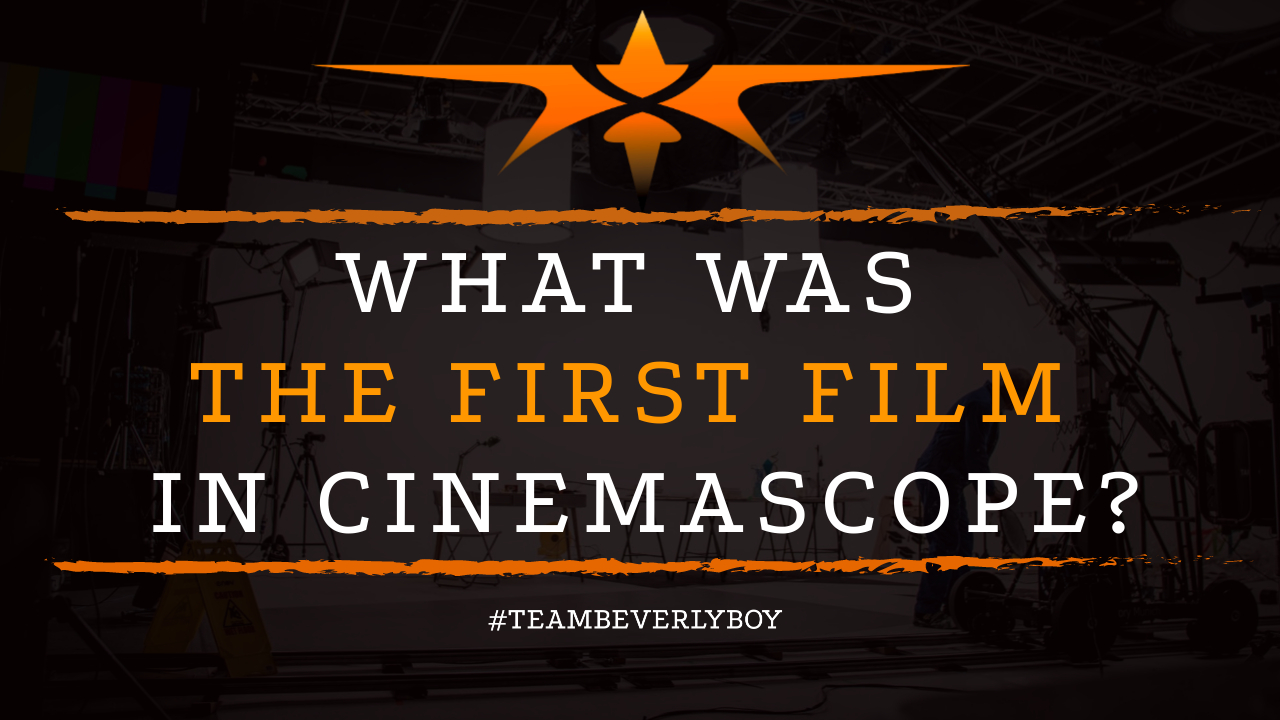 What was the First Film in Cinemascope