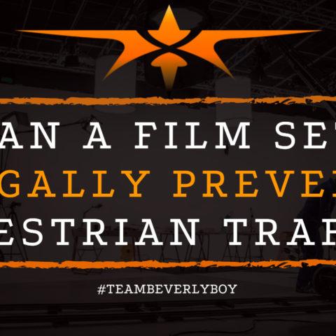 Can a Film Set Legally Prevent Pedestrian Traffic