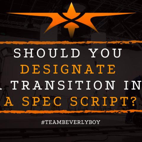 Should You Designate a Transition in a Spec Script