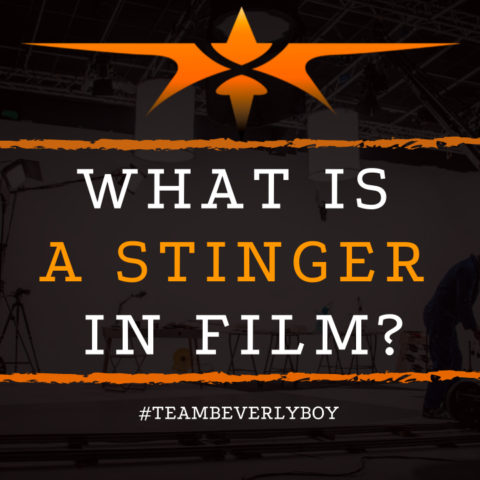 What is a Stinger in Film
