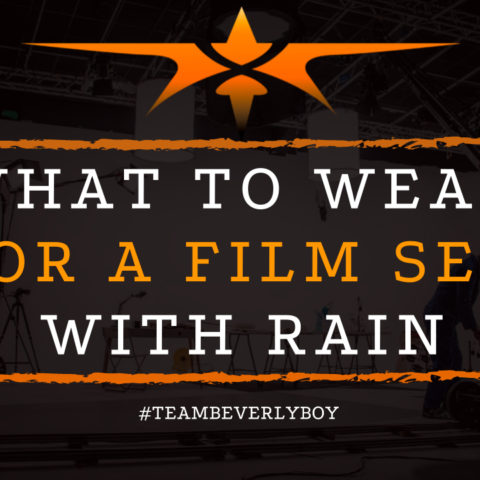 What to Wear for a Film Set with Rain