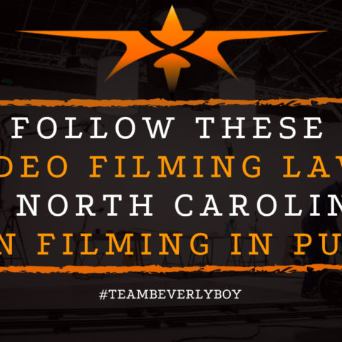 Follow These Video Filming Laws in North Carolina When Filming in Public