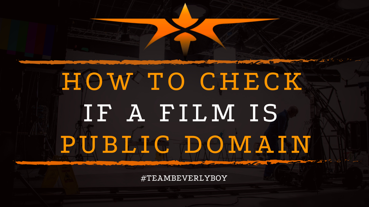 How to Check if a Film is Public Domain