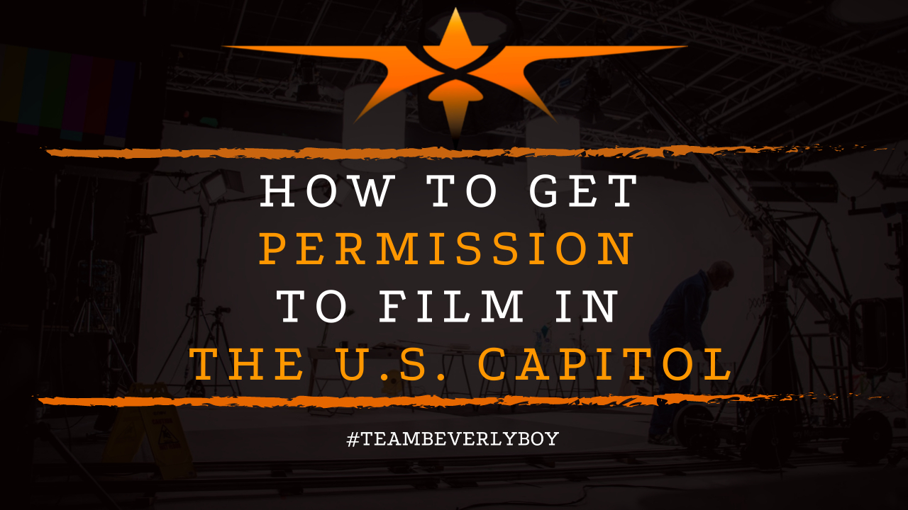 How to Get Permission to Film in the U.S. Capitol