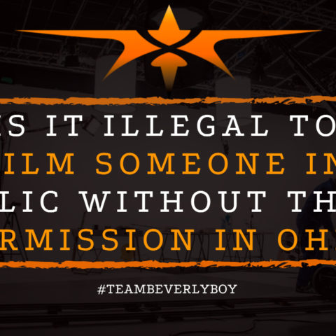 Is it Illegal to Film Someone in Public Without their Permission in Ohio