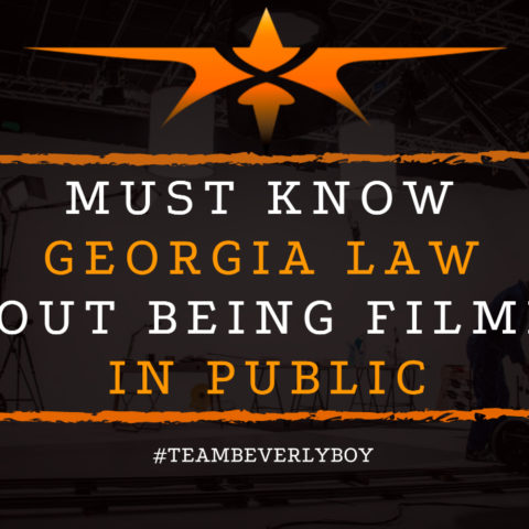 Must Know Georgia Law About Being Filmed in Public