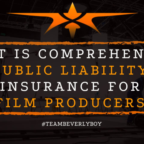 What is Comprehensive Public Liability Insurance for Film Producers