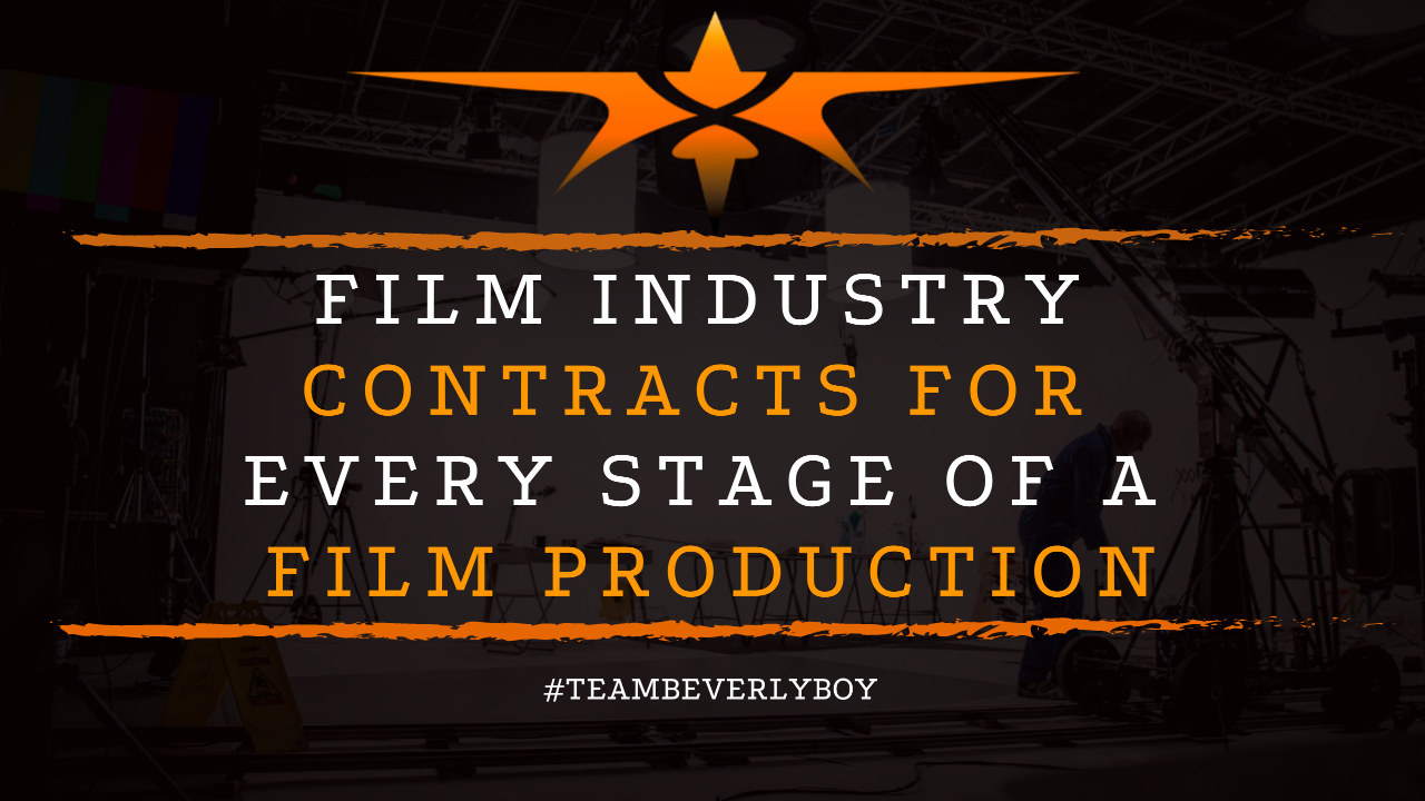 Film Industry Contracts for Every Stage of a Film Production