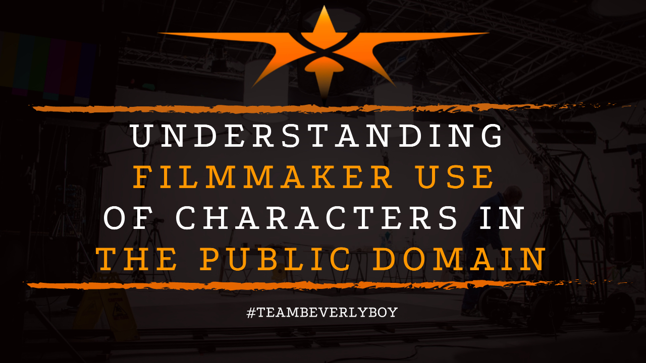 Understanding Filmmaker Use of Characters in the Public Domain