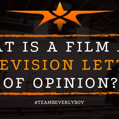 What is a Film and Television Letter of Opinion