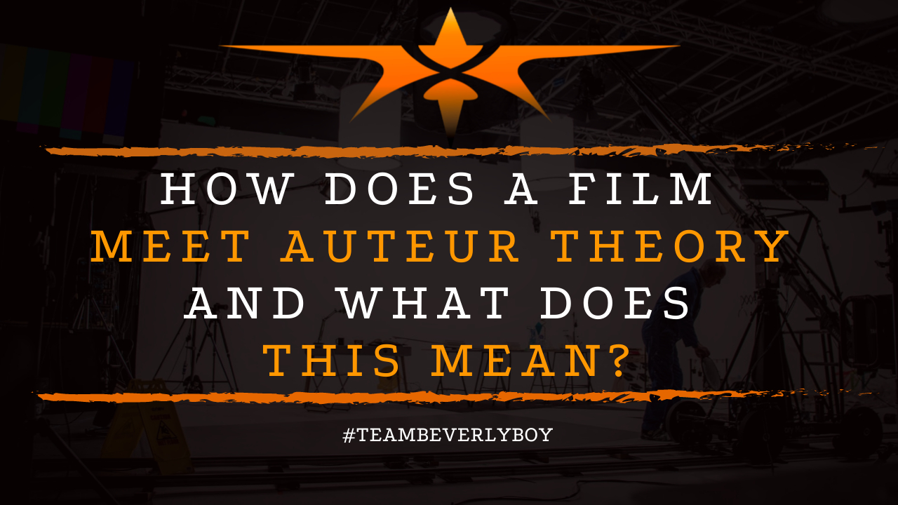 How Does a Film Meet Auteur Theory and What Does This Mean
