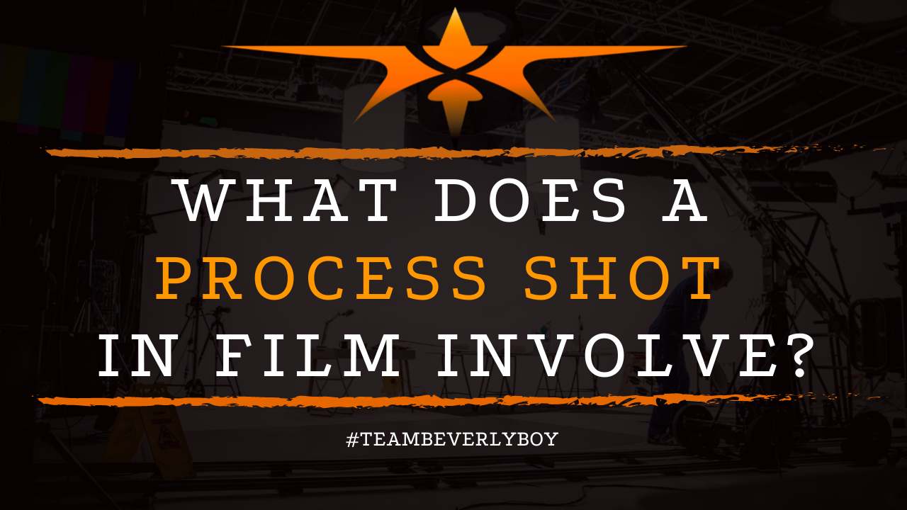 What Does a Process Shot in Film Involve