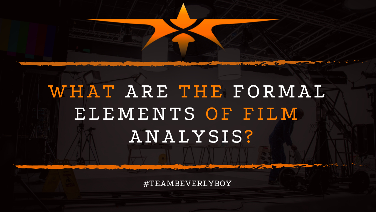 What are the Formal Elements of Film Analysis?